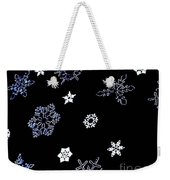 Saks 5th Avenue Snowflakes Weekender Tote Bag