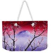 Sakura Weekender Tote Bag by Anastasiya Malakhova