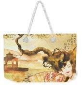 Sakura Weekender Tote Bag by Mo T