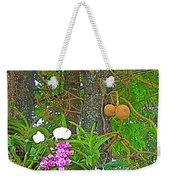 Sala Tree And Orchids At Buddhist University In Chiang Mai-thail Weekender Tote Bag