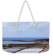 Salinas De Janubio On Lanzarote Weekender Tote Bag