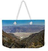 Saline Valley Panorama Weekender Tote Bag