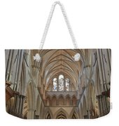 Salisbury Cathedral Quire And High Altar Weekender Tote Bag