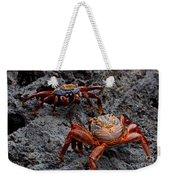 Sally Light Foot Crabs Galapagos Weekender Tote Bag