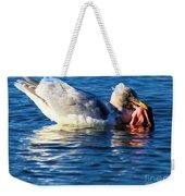 Salmon Delight Weekender Tote Bag