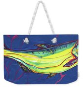 Salmon Of Knowledge Weekender Tote Bag