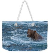 Salmon Salmon Everywhere Weekender Tote Bag