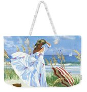 Salt Aire Blues Weekender Tote Bag