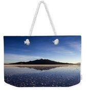 Salt Cloud Reflection Weekender Tote Bag