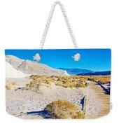 Salt Creek Boardwalk Trail In Death Valley National Park-california  Weekender Tote Bag