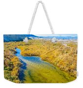 Salt Creek Near Salt Creek Trail In Death Valley National Park-california Weekender Tote Bag