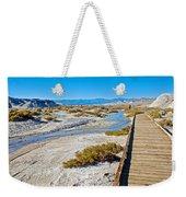 Salt Creek Trail Boardwalk In Death Valley National Park-california  Weekender Tote Bag