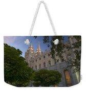 Salt Lake City Temple Weekender Tote Bag