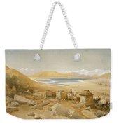 Salt Lake - Thibet, From India Ancient Weekender Tote Bag