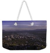 Salt Lake Valley Weekender Tote Bag