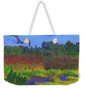 Salt Marsh Gull Weekender Tote Bag
