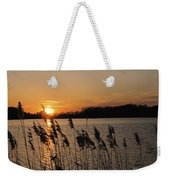 Salt Marsh Sunset Weekender Tote Bag