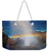 Salt Spray Rainbow Weekender Tote Bag
