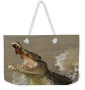 Salt Water Crocodile 2 Weekender Tote Bag