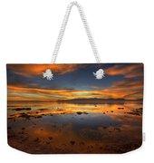 Salton Sea Color Weekender Tote Bag