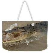 Saltwater Crocodile Weekender Tote Bag