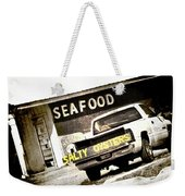 Salty Oysters - Textured Weekender Tote Bag