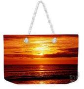 Salty Sunrise Weekender Tote Bag