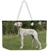 Saluki Dog Weekender Tote Bag