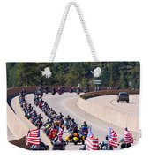 Salute To Veterans Rally Weekender Tote Bag