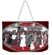 Saluting With Sabers Military Ceremony Unknown Location Or Date-2014 Weekender Tote Bag