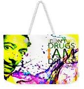 Salvador Dali Pop Art Weekender Tote Bag