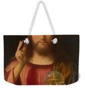 Salvador Mundi Weekender Tote Bag