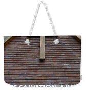 Salvation Weekender Tote Bag by Doug Wilton