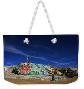 Salvation Mountain Weekender Tote Bag by Laurie Search
