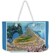 Sam And Topsail's Ghost Pirates  Weekender Tote Bag