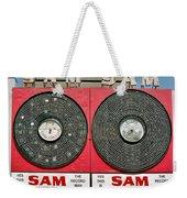 Sam The Record Man Weekender Tote Bag