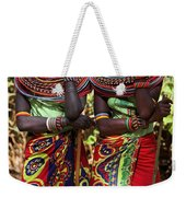 Samburu Women Dancing Kenya Weekender Tote Bag