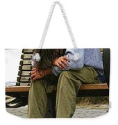 Same As Yesterday Weekender Tote Bag