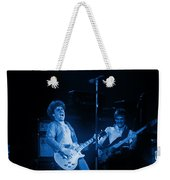 Sammy Plays The Blues In Spokane In 1977 Weekender Tote Bag