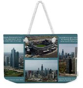 Sample Aerial Photography Services Readme Weekender Tote Bag