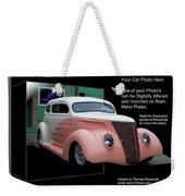 Sample Car Artwork Readme Weekender Tote Bag