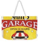 Sam's Garage Weekender Tote Bag