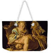 Samson And Delilah Weekender Tote Bag