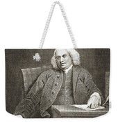 Samuel Johnson, English Author Weekender Tote Bag