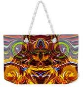 Samurai Warrior Weekender Tote Bag