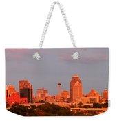 San Antonio - Skyline At Last Light Weekender Tote Bag