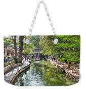 San Antonio River Walk In Spring Weekender Tote Bag