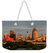 San Antonio - Skyline At Sunset Weekender Tote Bag
