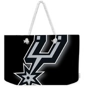 San Antonio Spurs Weekender Tote Bag by Tony Rubino