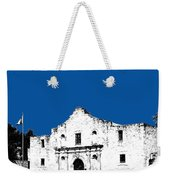 San Antonio The Alamo - Royal Blue Weekender Tote Bag
